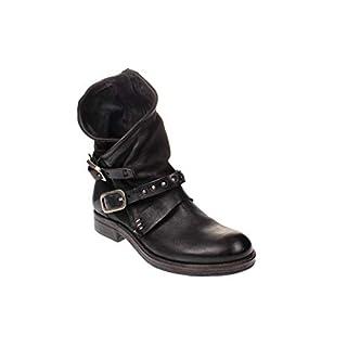A.S.98 207205-405-S - Damen Schuhe Boots Stiefel - 6002-nero, Größe:38 EU