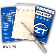 ZipTape RWB-75 Rite & Wrap Cable Marker Booklet 75-by-ZipTape by