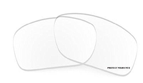 MZM Ersatzgläser für Oakley Jupiter Squared (wählen Sie die Farbe) (Clear)