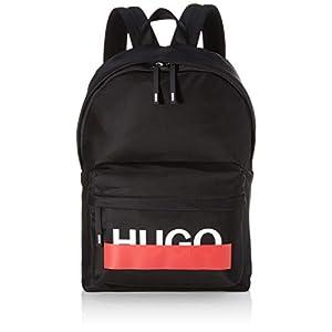 HUGO Herren Roteliebe_backpack Schultertasche, Schwarz (Black), 16x44x30 cm