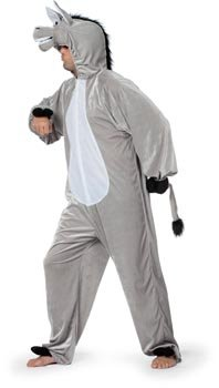 Imagen de stekarneval  disfraz de burro para hombre, talla 40 wilbers karnaval 9951450