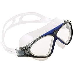 Seac Lunettes et Masque de Natation Vision HD - Adulte Mixte - Bleu