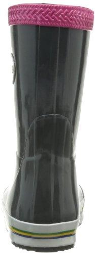 Havaianas Aqua Kids Rain Boots, Bottes de pluie mixte enfant Gris / Rose Fluo
