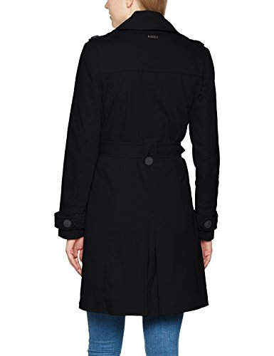 Brandit Damen Mantel Trenchcoat Girls, Schwarz (Black 2), X-Small - 2
