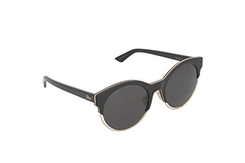 Dior Damen DIORSIDERAL1 Y1 J63 Sonnenbrille, Schwarz (Black Rose Gold Black/Grey), 53 -