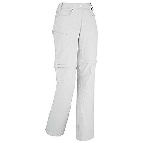 Millet - Pantalon Ld Trekker Strech Zo Storm Grey Femme - Femme - Taille 48 - Blanc
