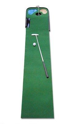 CEBEGO Home-Set Puttingmatte KOMPLETTSET incl.Golf-Kugelschreiber-Set, Golftraining Indoor by