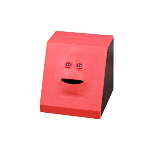 Deanyi Geld Essen Gesicht Box Nette Facebank Piggy Münzen Bank Funny Money Münzbox Home Product