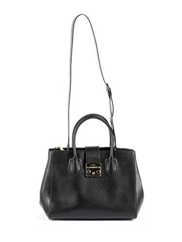 Furla Luxury Fashion Damen 908102 Schwarz Handtaschen | Jahreszeit Permanent
