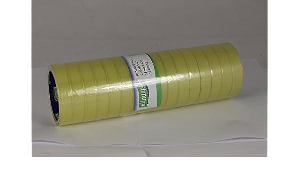 Ultratape 8 Rolls Sellotape Clear Tape 18mm x 40m New Genuine 8 Roll Tower