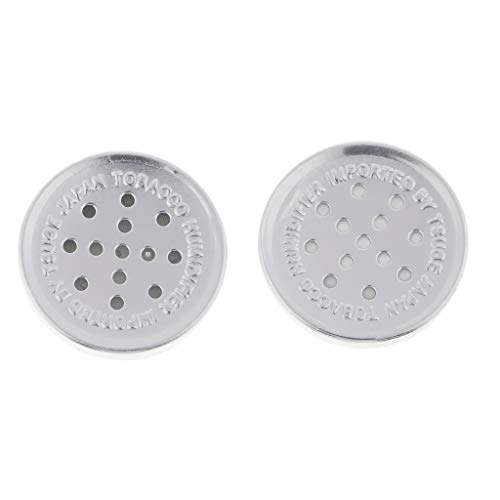 Baoblaze 2x Umidificatore Scatola Accessori Per Sigari Tabacco-Argento Lega di Alluminio