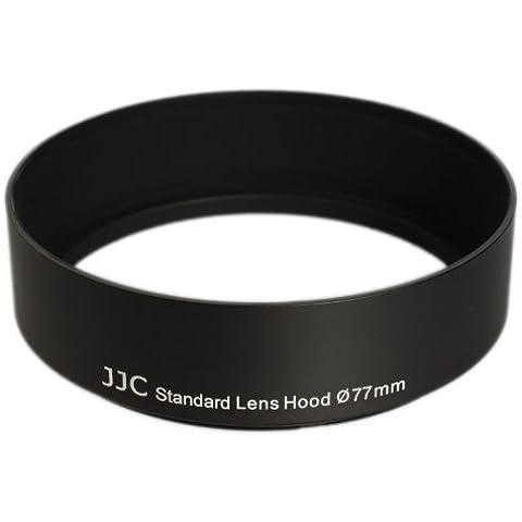 JJC 77mm profesional metal Parasol para Sigma 50mm f1.4DG HSM | Art: 77mm Rosca de filtro