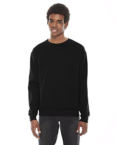 american-apparel-felpa-abbigliamento-uomo-nero-xx-large