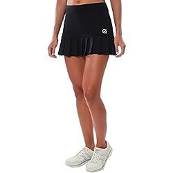 a40grados Sport & Style Flip, Falda para Mujer, Color Negro, Talla M
