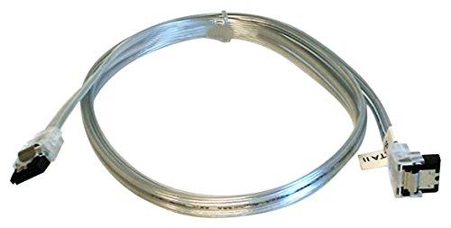 SATA Kabel mit Verriegelungsriegel Silber 36Inch (Single Pack) -