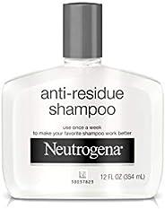 Neutrogena Anti-Residue Clarifying Shampoo, Gentle Non-Irritating Clarifying Shampoo to Remove Hair Build-Up &
