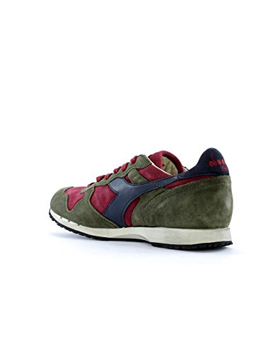 Diadora heritage trident 157664 tibetan red-burnt olive tibetan red - burnt olive