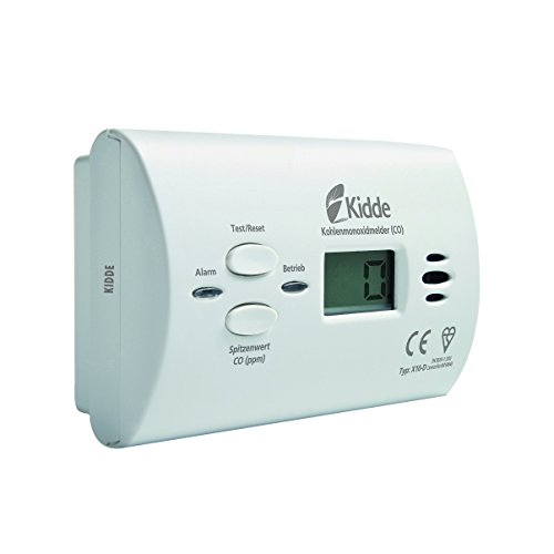 KIDDE-CO-Alarm-X10-D-mit-Display-Kohlenmonoxidmelder-wei-13775