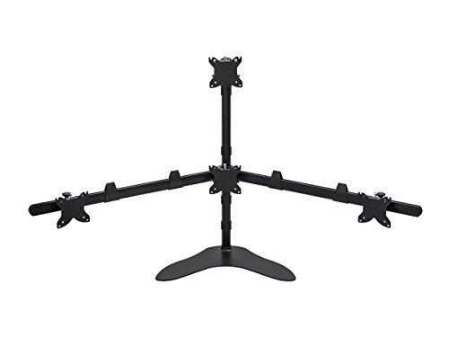 Monoprice Quad Monitor Pyramide freistehend Desk Mount 1534;-3034; Quad-monitor Desk