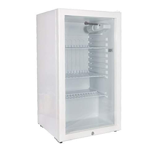 Refrigerador Transparente candado Pantalla Muestra