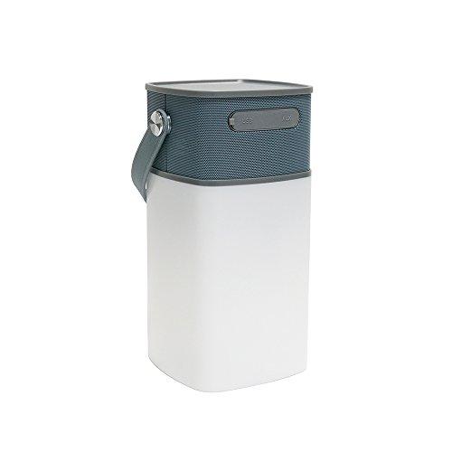 Preisvergleich Produktbild KENO 8 LED 40LM Camping Laterne mit Wiederaufladbare Wireless Bluetooth Lautsprecher - Inklusive 2200mAh 18650 Batterie