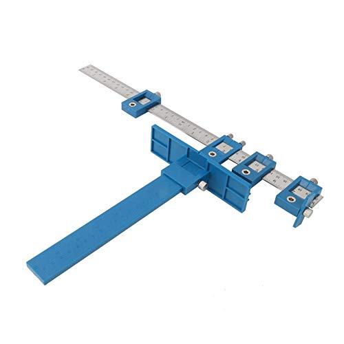 Hardware Jig Template Jig Pull Bohrschablone Jig Tool Punch Locator Bohrschablone für einfache Installation der Griffe
