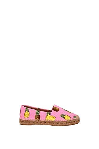 Espadrilles Dolce&Gabbana Damen - Stoff (CE0001AG162) EU Rosa