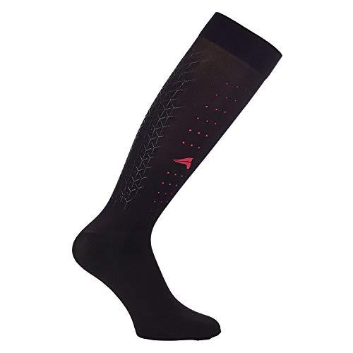 Reiterstrümpfe Euro-Star Gripper Socks Meteorite Größe/Farbe 35-38 / (Gripper Socken)