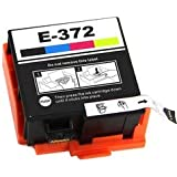 Printwell T372 Photo Printer Ink Cartridge for Epson T 372, PM 520 Multi Color