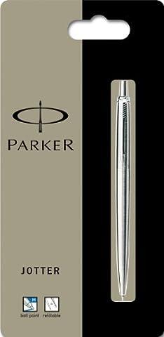 Sanford S0881930 - Parker Jotter Edelstahl C.C. Kugelschreiber, Stärke: M