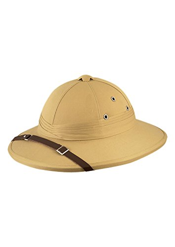 Islander Fashions Unisex Deluxe Erwachsene Safari Hut Damen Herren Entdecken Sie Hunter Helm Fancy Hat -