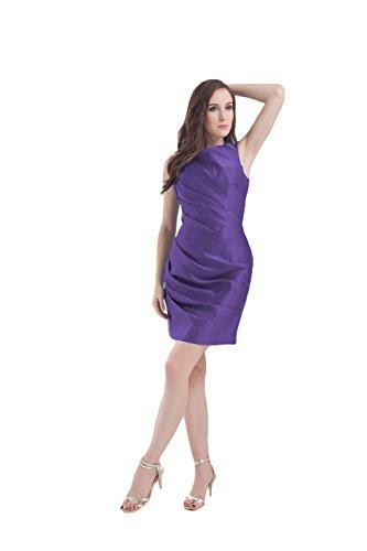 Bridal_Mall - Robe - Sans Manche - Femme Violet - Violet