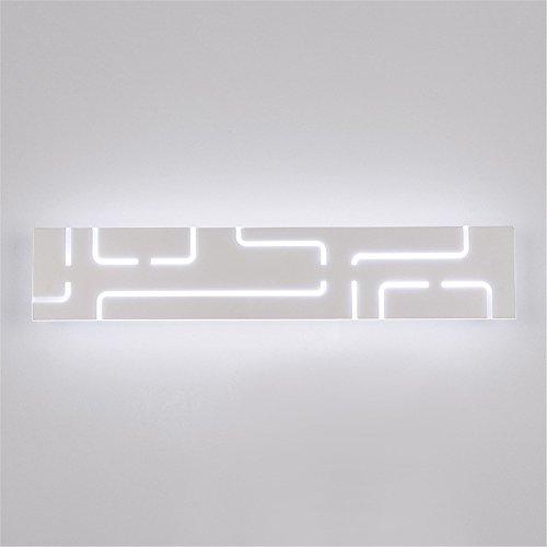 BOOTU lámpara LED luces pared Anti-vaho Rust Mirror