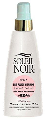 Soleil Noir Spray Lait Fluide Vitaminé Enfant SPF 50+ 150 ml