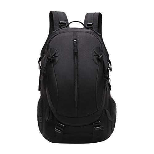 JOTHIN Nylon Armyrucksack Taktischer Rucksack Outdoor Herren Tagesrucksack Wasserdicht Sport Backpack 40L Rucksäcke für Survival Militär(Schwarz)