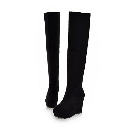 BalaMasa alte da donna, con tacco alto in Snow Boots Black