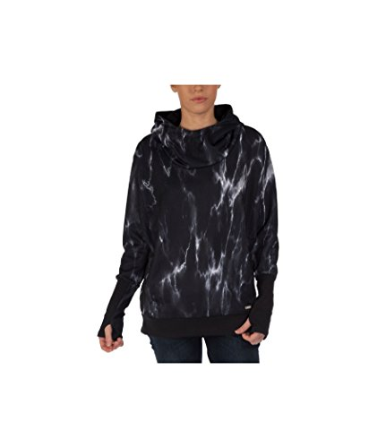 Bench Damen Sweatshirt Hoodie Switcher schwarz (Jet Black)