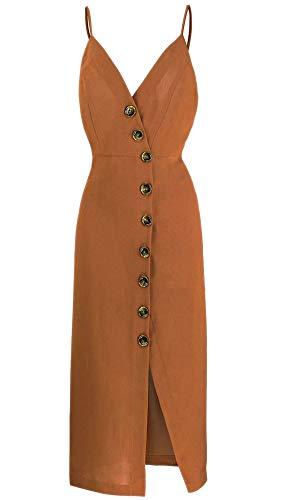 Spaghetti Strap Clubwear Kleid (Top-Vigor Damenkleider-V-Ausschnitt Kleid à
