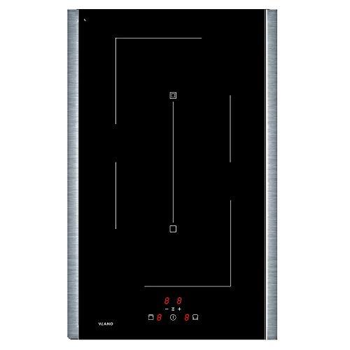 VLANO/IB 3021 EL / / Induktion Domino Kochfeld Flexzone Brückenschaltung/Boosterfunktion/Longlife Design/Touch-Control /