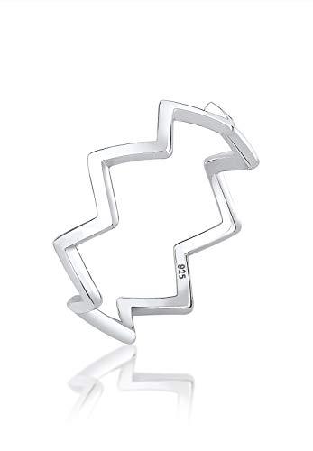 Elli Damen-Jahretagring V-Form mit \'- Ringgröße 56 (17.8) - 0606951517_56