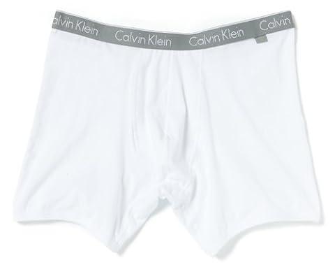 Calvin Klein Men's Ck One Boxer Briefs, White, X-Large