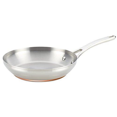 Anolon Nouvelle Copper Stainless Steel 8-Inch French Skillet Anolon Tools