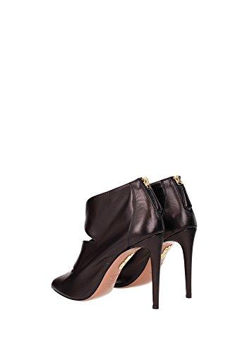 BLLHIGP0NAP000 Aquazzura Sandale Femme Cuir Noir Noir
