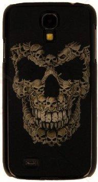 "3D Handy Back Case Cover \""Totenkopf\"" für Apple Iphone 4 4S Handy Tasche Schale Cover Schutz Hülle Bumper"