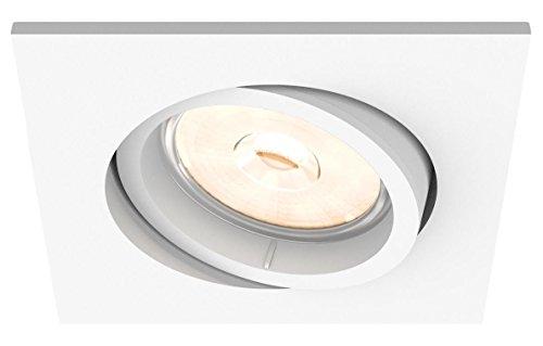 Philips Myliving Enneper White Led Recessed Spot Light Punto De Luz Foco Empotrado Gu10 1 Bombilla S Led 220 240 V Blanco