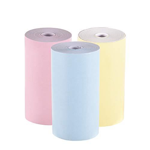 Aibecy Rollo papel térmico color 57 * 30mm