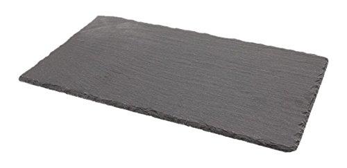 Genware nev-sltn-3020natur Edge Schiefer-Platte, 30cm x 20cm