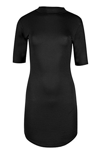 Be Jealous -  Vestito  - Maniche a 3/4 - Donna Black