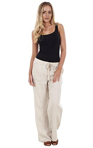 ladies-ex-ms-navy-linen-khaki-trousers-black-holiday-womens-pants-summer-white