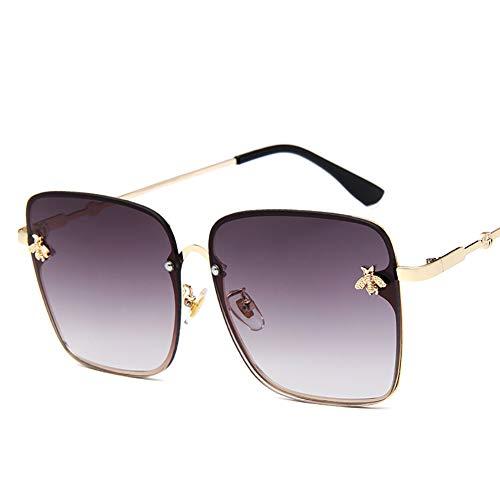 Polarisierte Fahren Sonnenbrille, 100% UV400-Schutz, Al-Mg Metallrahmen, Ultra leicht, Sport-Sonnenbrille, für Damen und Herren, Radfahren, Golf, Angeln, Laufen